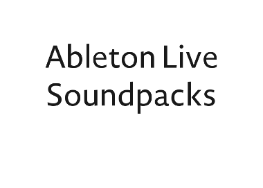 Ableton Live Soundpacks and percussion loops